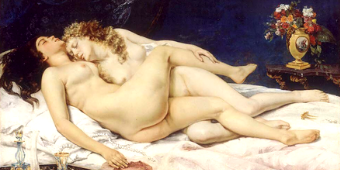 The nude, between eroticism and the sacred