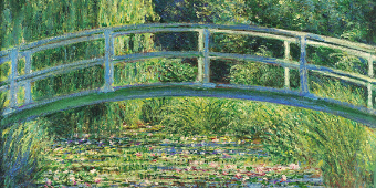 Claude Monet, the color of time